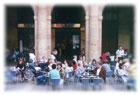 La terraza del Café Bilbao