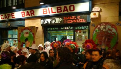Inauteriak (Caranaval): En la calle...